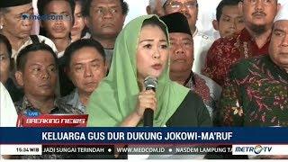 Video Resmi ! Keluarga Gus Dur Deklarasi Dukung Jokowi-Ma'ruf MP3, 3GP, MP4, WEBM, AVI, FLV Oktober 2018