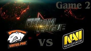 Na'Vi vs Virtus.Pro, game 2
