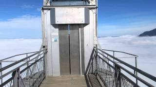 Burgenstock Switzerland  City pictures : Hammetschwand Lift runter / Hammetschwand elevator down