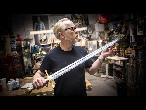 Adam Savage Builds King Arthur  s Legendary Sword From the 1981 Film