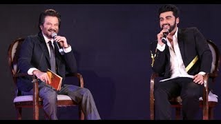 Anil Kapoor and Arjun Kapoor's bond has been one of the most exciting things about their upcoming film, Mubarakan. The two spill each other's secrets, mock each other and even express their love for each other publicly. They are the perfect uncle-nephew duo in B-Town. In fact, at the Mubarakan sangeet night, Anil Kapoor confessed that he wants to get Arjun married really soon. Well, now that's something all of us are waiting for. In fact, the two were asking each other questions at the event. Anil even spilled beans on all his affairs, his favourite daughter and so much more.