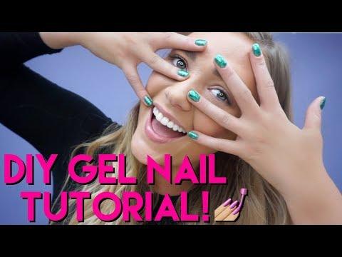 Gel nails - Allison's DIY gel nail tutorial!  tarte talk