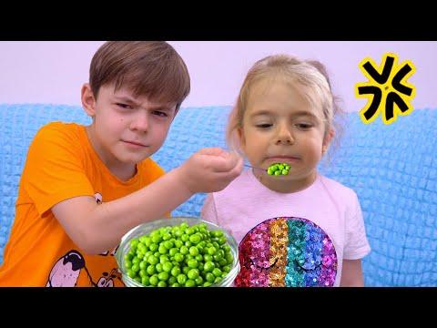Anabella s a certat cu Bogdan Video amuzant pentru copii