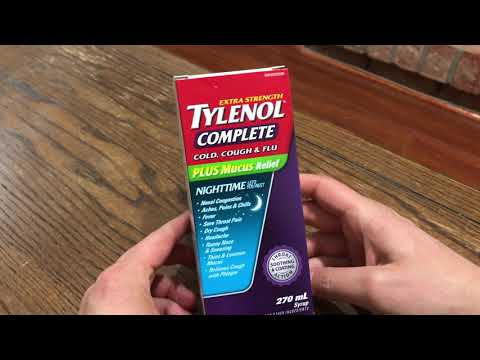 Unboxing Tylenol Complete Extra Strength