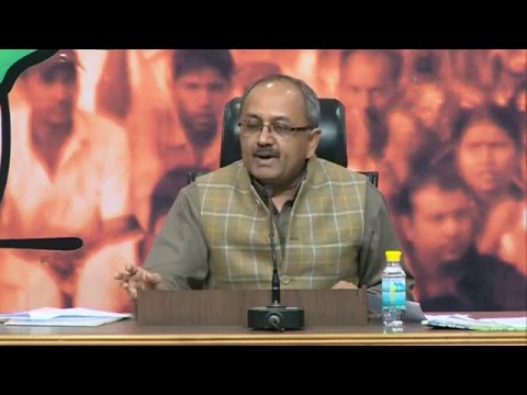 BJP rejects TMC govt falsehood & misleading advertisements | Press by Shri Sidharth Nath Singh