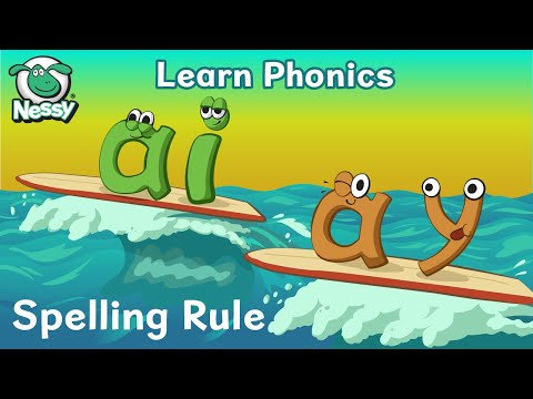 Nessy Spelling Strategy | When To Use ai ay | Vowel Digraphs | Learn to Spell
