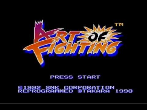 art of fighting neo geo moves