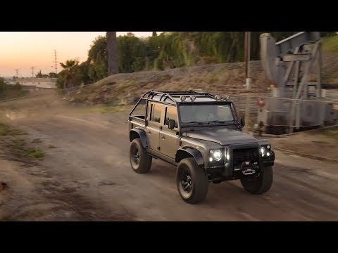 The Land Rover Defender 110 has...