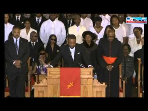 Emotivo funeral por Whitney Houston