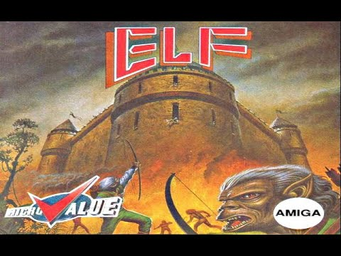 elf amiga game