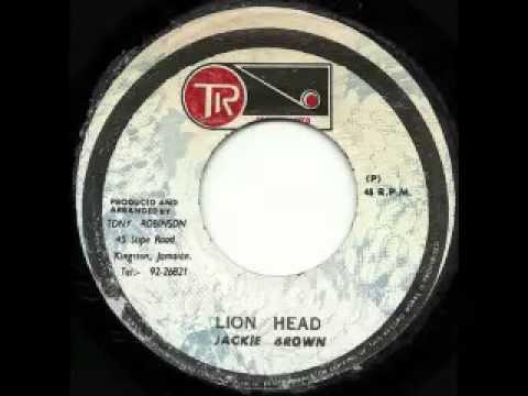 JACKIE BROWN + GROOVEMASTERS ALLSTARS - Lion head + beware of the lions head (1975 Groovemaster)