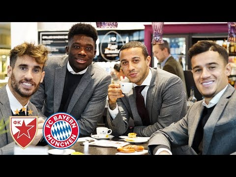 Unseen footage: The day before #FKCZFCB | Alphonso Davies Interview