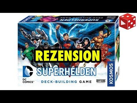 Test: DC Comics Superhelden Deck-Building-Game von KOSMOS (deutsch)