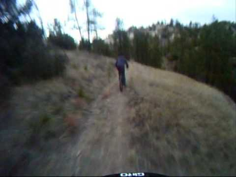 Lehl - Taylor and I taking the helmetcam out for a trailriding session after school at the Wildcats. Song: I Will Possess Your Heart by Death Cab for Cutie.
