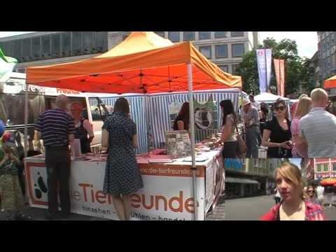 Ein Tag beim Veggie Street Day / Vegan Street Day 2011 Stuttgart