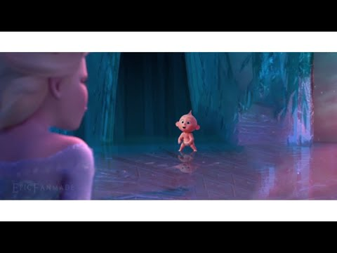 The Incredibles 2 Trailer Gone Wrong | Jack Jack Prr Meets Frozen Elsa