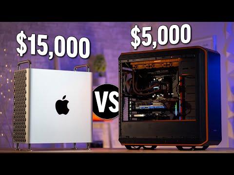 $15,000 Mac Pro vs $5,000 Threadripper - Sorry Apple..
