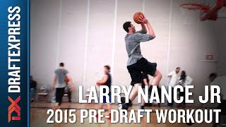 Larry Nance Jr. 2015 NBA Draft Workout Video