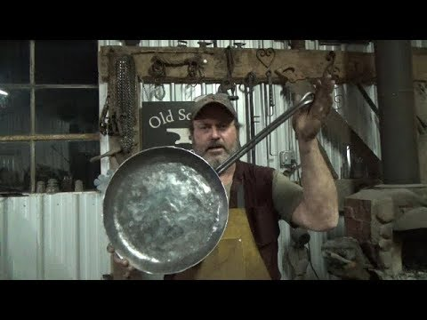 Blacksmithing - Forging And Forge Cooking With A Pan Apparently For An Army - Full Version