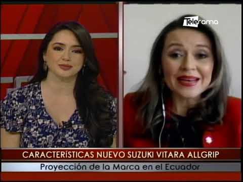 Características nuevo Suzuki Vitara Allgrip proyecto de la marca en el Ecuador