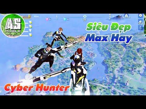 [Cyber Hunter] Trải Nghiệm Con Game Đồ Họa Cực Đẹp | AS Mobile