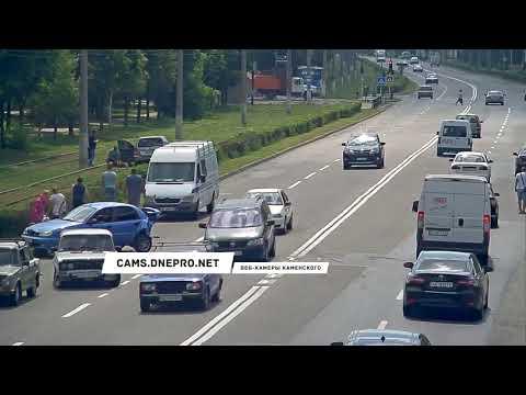 Утренняя авария в Каменском
