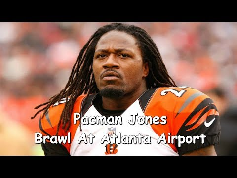 Adam PacMan Jones Gets into Fight With A Airport Employee (Video)