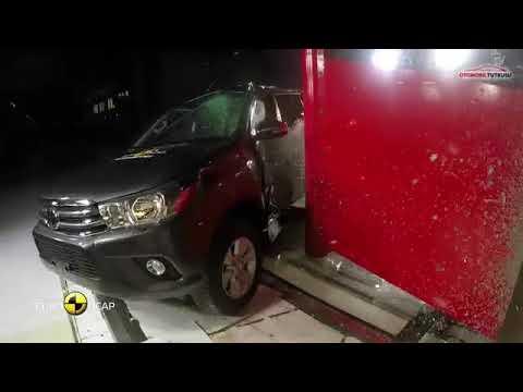Toyota Hilux Çarpışma Testi