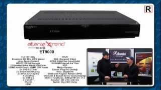Atlanta XTrend ET9000 Uydu Alıcı Tanıtım Videosu
