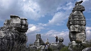 Kunming China  city photos gallery : Stone Forest, Kunming, China in 4K (Ultra HD)