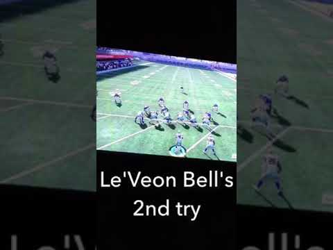Who can score a 99 yard touch down first Le'Veon Bell or Ezekiel Elliott