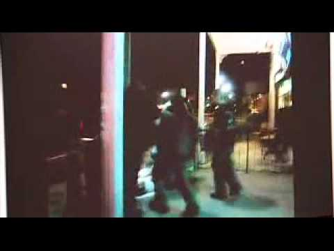 Cops Son Caught On Camera Punching Homeless Man