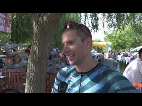 A 30. Hosszútávú Triatlon OB győztese: Badar Gergely