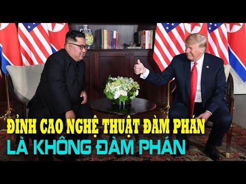 Đỉnh cao của Nghệ thuật đàm phán của Donal Trump: Không đàm phán! - Thời lượng: 10 phút.