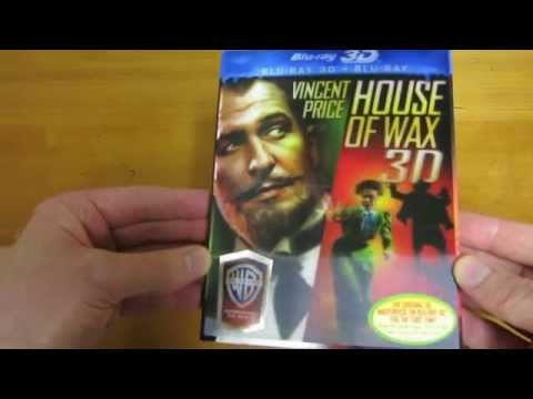 House of Wax 3D Blu-ray Unboxing