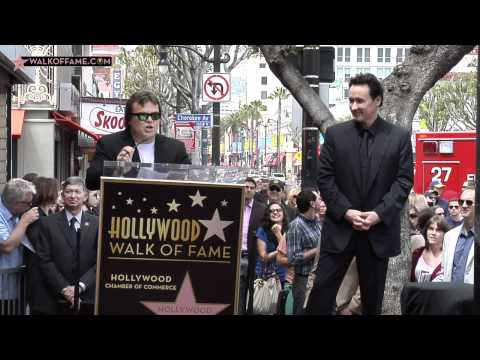 John Cusack Walk of Fame Ceremony