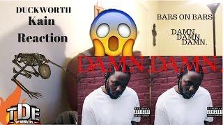 Kendrick Lamar DUCKWORTH  REACTION!!!