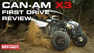 3. 2017 Can-Am Maverick X3 First Drive Review