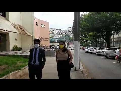 Saserj presente em manifestação pela defesa da Saúde Pública; polícia deteve dois participantes (3p)