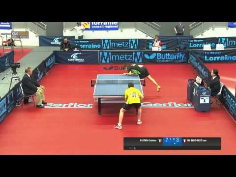 2014 French Junior & Cadet Open - Cadet Boys Semi Final