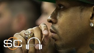 Kobe Bryant had to study sharks to figure out how to defend Allen Iverson after he dropped 41 on him