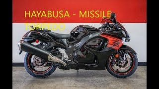 8. 2018 Suzuki HAYABUSA - MISSILE or TORPEDO - Test Ride Review