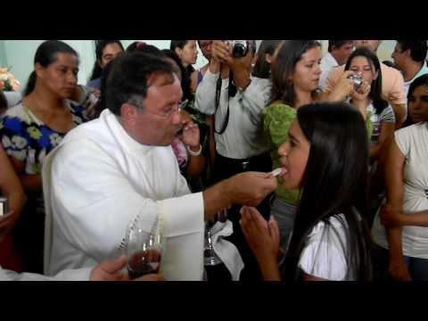 Primeira Eucaristia São Tomás de Aquino - 2010 -