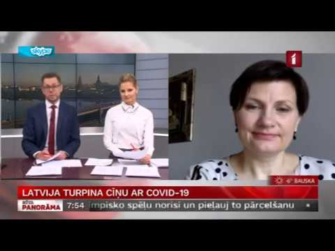 LTV saruna ar veselības ministri Ilzi Viņķeli par aktualitātēm COVID-19 ierobežošanai Latvijā