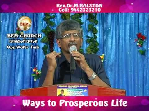 ways to prosperous life & blessing of christ
