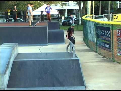 Shoreline Skateshop Event at Indian Rocks Beach Skatepark