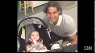 The daughter of Bob Bryan, part of of tennis' greatest double act in history, has become a social media phenomenon.