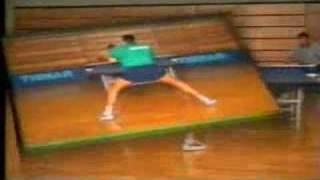 Vladimir Samsonov работа ног