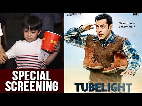 Salman Khan's Little Star Matin Rey Tangu At TUBEL