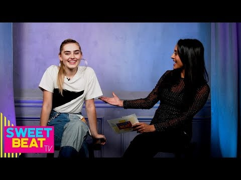 Meg Donnelly (Zombies 2) Dishes on 'American Housewife' | SweetBeat TV